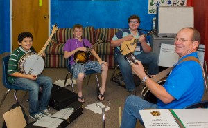 mandolin and banjo class